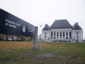 The Supreme Court of Canada is seen in Ottawa.