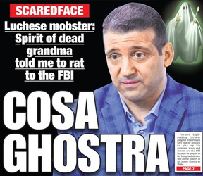 Mob turncoat John Pennisi said the ghost of his grandparents convinced him to flip.