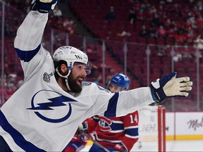 Tampa Bay Lightning left wing Pat Maroon is poised to become only the fourth player to win three consecutive Stanley Cups with multiple teams.