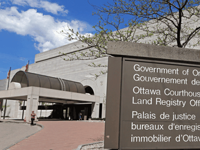 Files: The provincial courthouse in Ottawa.