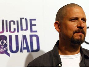 Director David Ayer at the Launch of the Suicide Squad Reve Penitentiary Fan Experience on Tuesday July 26, 2016.