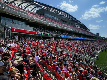 Atletico Ottawa host their first home game against the HFX Wanderers FC in the first game in front of fans Saturday, August 14, 2021, at TD Place.