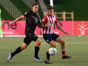 Forge FC defeated Atletico Ottawa 1-0 on Sept. 8, 2021 at TD Place.  September 8, 2021  PHOTO: Matt Zambonin/Freestyle Photography/CPL