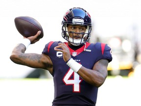 Quarterback Deshaun Watson is not expected to play any more games for the Houston Texans.