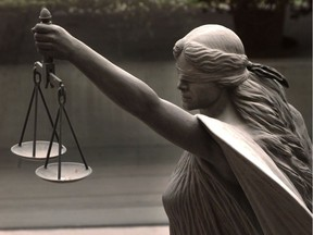 FILE: A statue of justice.