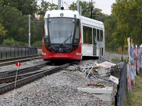 The second LRT derailment in roughly six weeks occurred Sunday Sept. 23 near Tremblay Station.