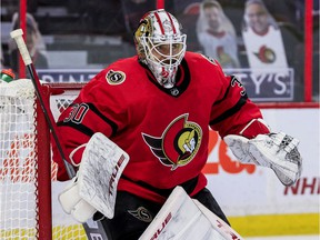 Matt Murray may be forced to sit out the Ottawa Senators' season opener due to a cold that is not related to COVID-19.