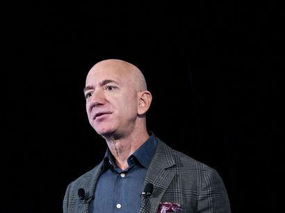 Jeff Bezos and others have become richer because of the significantly increased demand for the goods and services their companies provide.