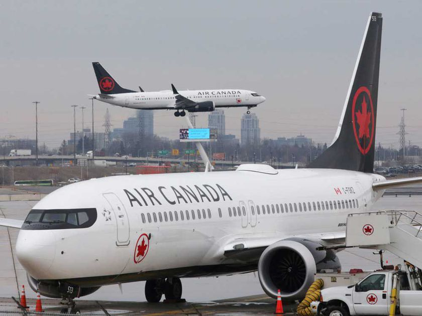 Air Canada announced Tuesday that is discontinuing service on 30 domestic routes.