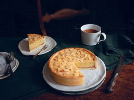 Bakewell tart from The British Baking Book