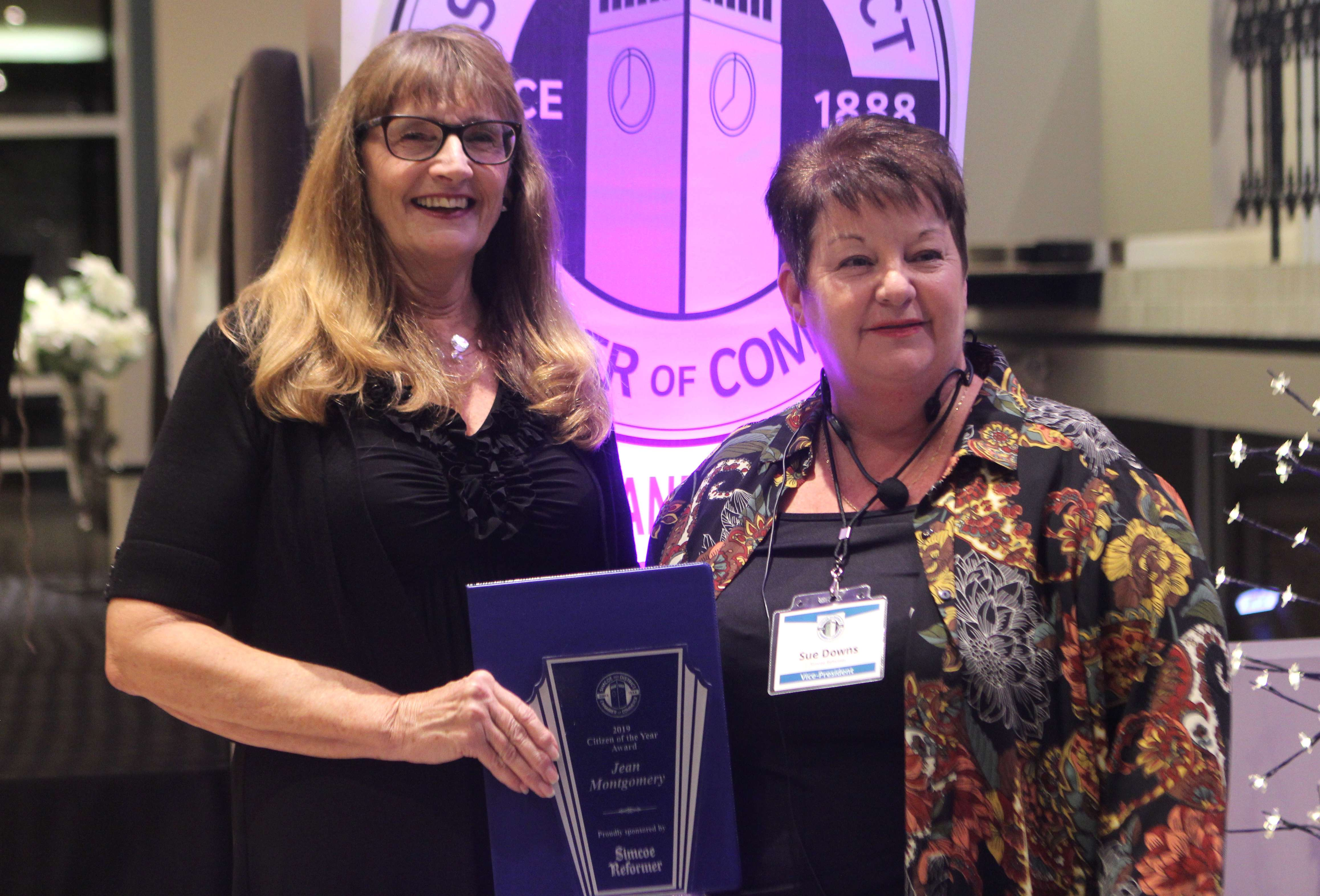 Businesses, individuals honoured at awards night