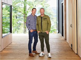 Interior designers and TV presenters Colin McAllister and Justin Ryan have recently released their new book: Escapology: Modern Cabins, Cottages and Retreats.