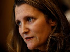 Deputy Prime Minister Chrystia Freeland has threatened to hit back if Donald Trump goes ahead with punitive duties on Canadian aluminum this weekend.