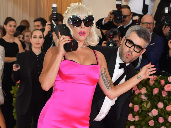 FILE: Singer/actress Lady Gaga arrives for the 2019 Met Gala at the Metropolitan Museum of Art on May 6, 2019, in New York.