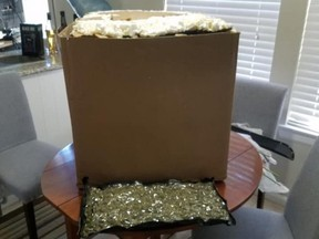 """""""A house in our District 5 Patrol area got a package they hadn't ordered,"""" wrote Sheriff Ed Gonzalez on June 14."""