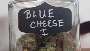 Blue Cheese from Tupa's Joint, an Indigenous dispensary in Vernon. B.C.