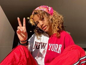 Performer and influencer Akeshia King, who is known online as Kesh Kesh and boasts 550K Instagram followers, posted her clip, dubbed the Kesh Kesh Weed Rap, to her TikTok account, spurring other teens to create their own versions.