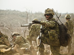 According to Veterans Affairs Canada, it is estimated that up to 10 per cent of war zone veterans — including war-service veterans and peacekeeping forces — will experience PTSD.