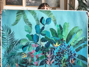 Laura Garcia Serventi is an illustrator who produces work for Pure Sunfarms. /