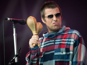 FILE: Liam Gallagher performs on the Pyramid stage on day four of Glastonbury Festival at Worthy Farm, Pilton on June 29, 2019 in Glastonbury, England. /