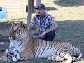 Joe Exotic reports an exclusive licensing deal has been signed. /