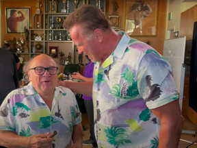Danny DeVito gifted the former governor of California a cigar infused with cannabis while they were on set in the 1980s.
