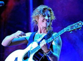 Sarah McLachlan on stage during The 2009 Summer Sessions at Ambleside. (PNG File)