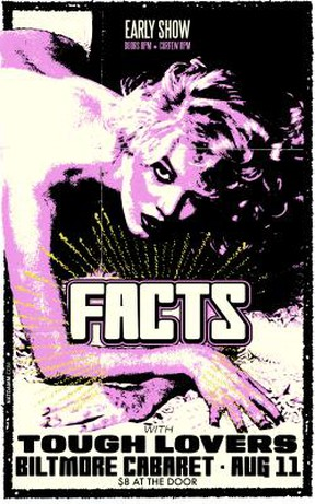 Facts and Tough Lovers play at the Biltmore Aug. 11