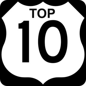Top 10s for boys and girls volleyball
