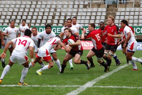 Rugby Canada U20 is just one win away from the Junior World Trophy final in Chile. (IRB photo)