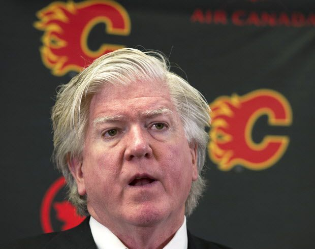 Flames Boss Brian Buke says he doesn't think much of the stats he's seen. THE CANADIAN PRESS/Larry MacDougal