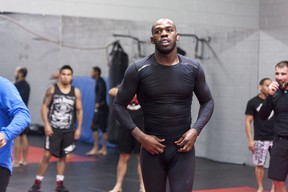 UFC light heavyweight champion Jon Jones.