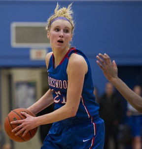 Brookswood forward Tayla Jackson has led her team to four straight B.C. Triple A final four appearances. (PNG file photo)