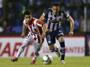 Uruguayan winger Cristian Techera, here playing for River Plate last year, is now a Whitecap. (RODRIGO BUENDIA/AFP/Getty Images)