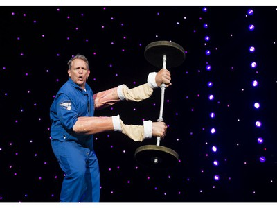 Murray Putz performs at UNBELIEVABLE, a magical experience at 2016 Fair at the PNE Vancouver, August 20 2016.
