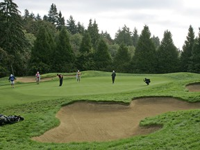 B.C. Golf poll says six-in-ten golfers are uncomfortable with anyone smoking marijuana on the course.