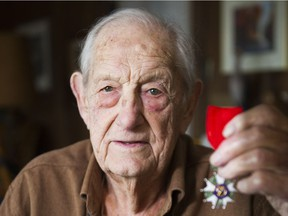 Lloyd Williams was awarded the Legion d'honneur by the French government in 2015 for his service during World War 2.
