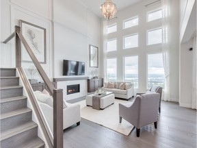 The 'Ravenview' show home at The Ridge at Burke Mountain, a project from Foxridge Homes.