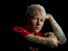 Jen Kish captained Canada's women's sevens rugby team to a bronze medal at the Rio Olympics last summer.