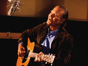 Country music star Glen Campbell.