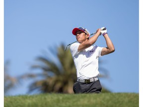 Chris Crisologo of Richmond, who enjoyed a superb golf season as an amateur, didn't answer if he plans to turn pro after finishing his final year with the Simon Fraser University golf team.