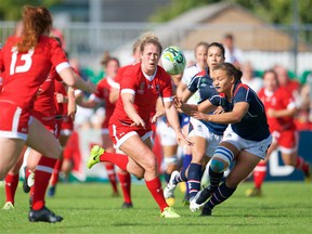 Andrea Burk will play for Canada at the Rugby League Women's World Cup.