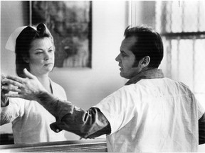 One Flew Over The Cuckoo's Nest, the 1975 movie that examined cruelty on a psychiatric ward, starred Jack Nicholson and Louise Fletcher, who later said she could no longer watch the film the character she won an Oscar for, Nurse Ratched, is so cruel.