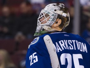 Jacob Markstrom is accustomed to getting short playing notice.