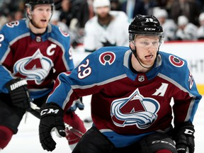 Nathan MacKinnon of the Colorado Avalanche, second in league scoring with 60 points, visits Rogers Arena tonight to face the Vancouver Canucks.