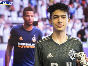 Erfan Hosseini, Whitecaps have hired their first eSports player, who will compete for them in the first FIFA eSports MLS cup against other MLS teams and their own eSports pros.