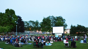 Movie in the Park is among the events that are part of the 2018 McBurney Plaza Summer Series.