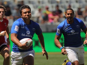Gordon Langkilde of Samoa was arrested Sunday in connection to an alleged assault after a game against Wales at the Rugby World Cup Sevens in San Francisco.