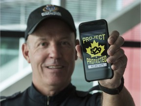 VPD Const. Rob Brunt is the liaison officer for Project 529, a digital registration and recovery system for bikes.