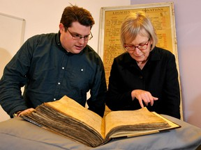 Gary Brannan and Sarah Rees Jones examine one of the archishops' registers, detailing the unusual story of Joan of Leeds.